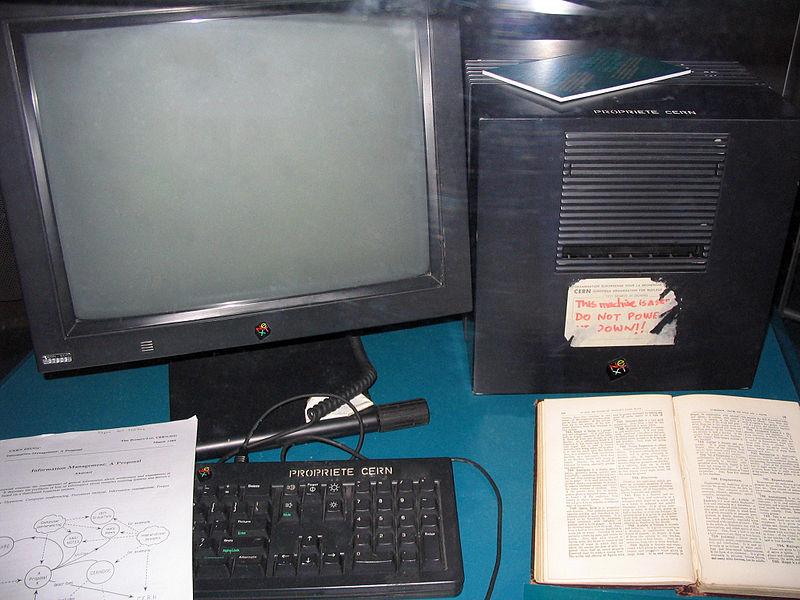 Ο πρώτος Web Server, όπου ο Τιμ Μπέρνερς-Λι υλοποίησε τον Παγκόσμιο Ιστό, ήταν ένα NeXT Computer