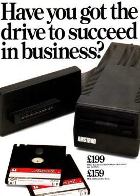 Amstrad DD1, εξωτερικό FDD για τον CPC464